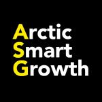 Pohjoinen älykäs kasvu - Arctic Smart Growth -hankkeen logo